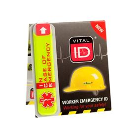 Worker Emergency ID Tag I.C.E