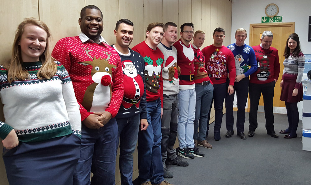 Bryson Christmas Jumper Day